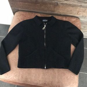 Vintage Patagonia womans crop zip sweater cardigan